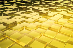 Abstract glass cubes background Royalty Free Stock Images
