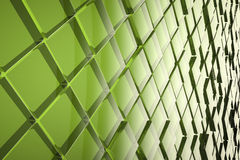 Abstract glass cubes background Royalty Free Stock Image