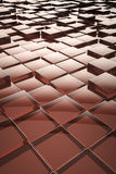 Abstract glass cubes background Royalty Free Stock Photo