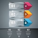 Abstract glass 3D digital illustration Infographic. Business Infographics origami style Vector illustration. Vector eps 10 vector illustration
