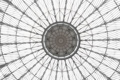 Abstract of Glass dome with decorations Stock Images