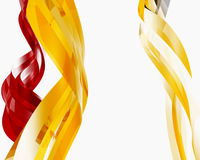 Abstract Glass Objects016. Abstract Glass Objects on white016 royalty free illustration