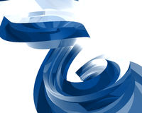Abstract Glass Objects047. Abstract Glass Objects on white047 stock illustration