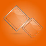 Abstract glass panel with copy space Royalty Free Stock Image