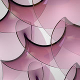 Abstract Glass Shapes Royalty Free Stock Photography