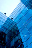 Abstract glass side. Of business building Stock Photos