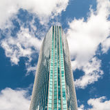 Abstract glass skyscraper Royalty Free Stock Photos