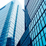 Abstract glass skyscrapers Royalty Free Stock Photo
