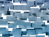 Abstract glass squares Royalty Free Stock Photography
