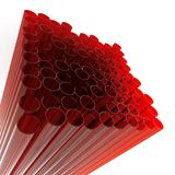 Abstract glass tubes Royalty Free Stock Photography