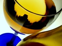 Abstract Glassware Design Stock Photo