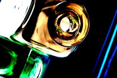 Abstract Glassware Design Royalty Free Stock Photo