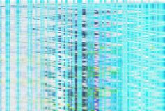 Abstract glitch artifact turquoise technology,  noise. Abstract glitch artifact turquoise technology vhs background,  noise stock illustration