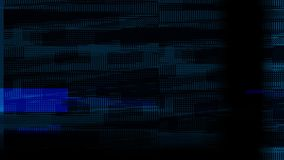 Abstract Glitch Motion Graphics Animation Background royalty free illustration