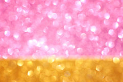 Abstract glitter bokeh lights. defocused lights background. summer concept. Royalty Free Stock Photography