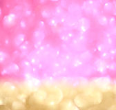 Abstract glitter bokeh lights. defocused lights background. summer concept. Royalty Free Stock Photo