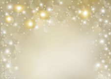Abstract Glitter Defocused Background. Abstract Glitter Background - Blurred Christmas Illustration, Vector Royalty Free Stock Photography