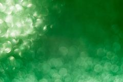 Abstract glitter green background for card and invitation stock images