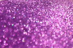Abstract glitter purple lights background Royalty Free Stock Images