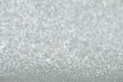 Abstract glittering silver background Royalty Free Stock Photos