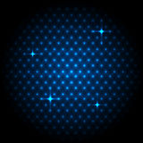 Abstract global with blue dots background Stock Photos