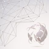 Abstract global communication background Royalty Free Stock Images