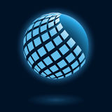 Abstract global icon Stock Photography
