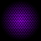 Abstract global with purple dots background Stock Photos