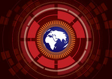 Abstract Global Technology Background Royalty Free Stock Images