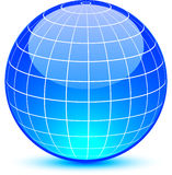 Abstract globe. Royalty Free Stock Photo