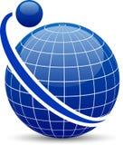 Abstract globe. Royalty Free Stock Photos