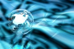 Abstract globe Stock Photography