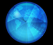 Abstract globe Stock Photo