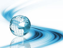 Abstract globe stock illustration