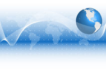 Abstract Globe Background Royalty Free Stock Photography