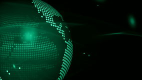 Abstract globe background for news Stock Photography
