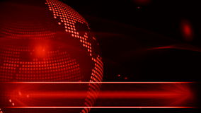 Abstract globe background for news Royalty Free Stock Images