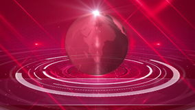 Abstract globe background stock footage