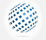 Abstract globe 3d Stock Photo