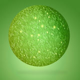 Abstract globe green Royalty Free Stock Photography