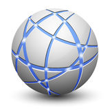 Abstract Globe Icon Royalty Free Stock Photo