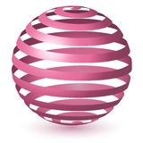 Abstract Globe Icon Stock Photography