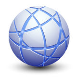 Abstract Globe Icon Stock Photo