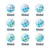 Vector logo globe Stock Photography