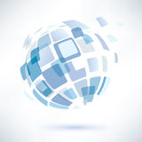Abstract globe symbol, business concept Stock Photo