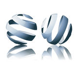 Abstract Globes Stock Photography