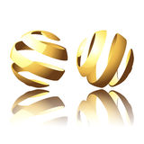 Abstract Globes Stock Images