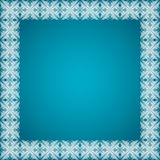 Abstract gloeiend vectorkader Royalty-vrije Stock Foto