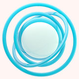 Abstract glossy background or blank button Royalty Free Stock Photography