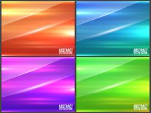 Abstract glossy  background Stock Images